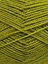 Fiber Content 60% Acrylic, 40% Angora, Brand ICE, Green, Yarn Thickness 2 Fine  Sport, Baby, fnt2-35203