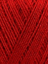 Fiber Content 100% Bamboo, Red, Brand ICE, Yarn Thickness 2 Fine  Sport, Baby, fnt2-35227