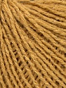 Fiber Content 87% Acrylic, 3% Lurex, 10% Wool, Yarn Thickness Other, Light Brown, Brand ICE, fnt2-35434