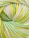 Fiber Content 60% Premium Acrylic, 40% Merino Wool, Yellow, Brand ICE, Green, Cream, Yarn Thickness 2 Fine  Sport, Baby, fnt2-35578