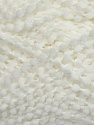 Fiber Content 100% Polyamide, White, Brand ICE, Yarn Thickness 3 Light  DK, Light, Worsted, fnt2-35587