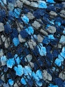 Fiber Content 80% Acrylic, 20% Polyester, Brand ICE, Grey, Blue Shades, Black, fnt2-35633