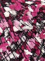 Fiber Content 80% Acrylic, 20% Polyester, White, Pink Shades, Brand ICE, Black, fnt2-35637