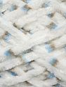 Fiber Content 100% Micro Fiber, White, Brand ICE, Brown, Blue, Yarn Thickness 4 Medium  Worsted, Afghan, Aran, fnt2-35642