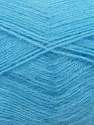 Fiber Content 70% Angora, 30% Acrylic, Light Blue, Brand ICE, Yarn Thickness 2 Fine  Sport, Baby, fnt2-35676