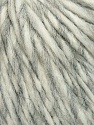 Fiber Content 35% Acrylic, 30% Wool, 20% Alpaca Superfine, 15% Viscose, White, Brand ICE, Grey, Yarn Thickness 5 Bulky  Chunky, Craft, Rug, fnt2-35725