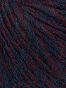 Fiber Content 35% Acrylic, 30% Wool, 20% Alpaca Superfine, 15% Viscose, Maroon, Brand ICE, Burgundy, Yarn Thickness 5 Bulky  Chunky, Craft, Rug, fnt2-35728