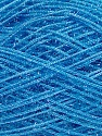 Fiber Content 60% Polyester, 40% Lurex, Light Blue, Brand ICE, Yarn Thickness 5 Bulky  Chunky, Craft, Rug, fnt2-35787