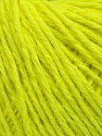 Fiber Content 50% Acrylic, 50% Wool, Neon Yellow, Brand ICE, Yarn Thickness 4 Medium  Worsted, Afghan, Aran, fnt2-35918