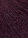 Fiber Content 65% Acrylic, 5% Polyester, 10% Wool, 10% Alpaca, 10% Viscose, Maroon, Brand ICE, Yarn Thickness 3 Light  DK, Light, Worsted, fnt2-35951