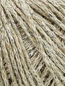 Fiber Content 60% Acrylic, 20% Wool, 10% Cotton, 10% Metallic Lurex, Silver, Yarn Thickness Other, Brand ICE, Beige, fnt2-35953