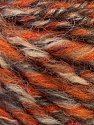 Fiber Content 50% Merino Wool, 25% Acrylic, 25% Alpaca, Orange, Brand ICE, Camel, Brown, Yarn Thickness 5 Bulky  Chunky, Craft, Rug, fnt2-36059