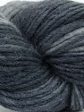In this yarn a 100% Wool yarn is used. Dyeing process is totally hand made with natural plants and NO chemicals were used. For this reason, please be advised that some white parts may remain. Fiber Content 100% Wool, Brand ICE, Grey Shades, Yarn Thickness 4 Medium  Worsted, Afghan, Aran, fnt2-36257