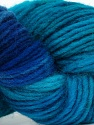 In this yarn a 100% Wool yarn is used. Dyeing process is totally hand made with natural plants and NO chemicals were used. For this reason, please be advised that some white parts may remain. Fiber Content 100% Wool, Turquoise, Brand ICE, Blue Shades, Yarn Thickness 4 Medium  Worsted, Afghan, Aran, fnt2-36258