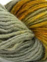 In this yarn a 100% Wool yarn is used. Dyeing process is totally hand made with natural plants and NO chemicals were used. For this reason, please be advised that some white parts may remain. Fiber Content 100% Wool, Brand ICE, Grey, Green Shades, Yarn Thickness 4 Medium  Worsted, Afghan, Aran, fnt2-36259