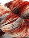 In this yarn a 100% Wool yarn is used. Dyeing process is totally hand made with natural plants and NO chemicals were used. For this reason, please be advised that some white parts may remain. Fiber Content 100% Wool, Brand ICE, Cream, Copper, Brown, Yarn Thickness 4 Medium  Worsted, Afghan, Aran, fnt2-36262