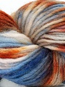 In this yarn a 100% Wool yarn is used. Dyeing process is totally hand made with natural plants and NO chemicals were used. For this reason, please be advised that some white parts may remain. Fiber Content 100% Wool, Purple, Brand ICE, Cream, Brown, Yarn Thickness 4 Medium  Worsted, Afghan, Aran, fnt2-36264
