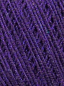 Fiber Content 70% Acrylic, 20% Metallic Lurex, 10% Cotton, Purple, Brand ICE, fnt2-36268