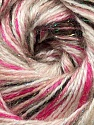 Fiber Content 70% Acrylic, 5% Lurex, 25% Angora, Pink Shades, Brand ICE, Brown Shades, Yarn Thickness 2 Fine  Sport, Baby, fnt2-36286