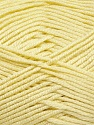 Fiber Content 100% Acrylic, Light Yellow, Brand ICE, Yarn Thickness 2 Fine  Sport, Baby, fnt2-36377