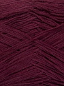 Fiber Content 78% Polyamide, 22% Acrylic, Brand ICE, Burgundy, Yarn Thickness 2 Fine  Sport, Baby, fnt2-36424