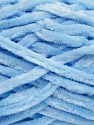 Fiber Content 100% Micro Fiber, Brand Ice Yarns, Baby Blue, Yarn Thickness 5 Bulky  Chunky, Craft, Rug, fnt2-36480
