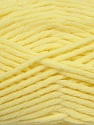 Fiber Content 50% Acrylic, 50% Wool, Brand ICE, Baby Yellow, Yarn Thickness 5 Bulky  Chunky, Craft, Rug, fnt2-36512