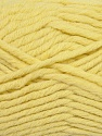 Fiber Content 50% Wool, 50% Acrylic, Light Yellow, Brand ICE, fnt2-36513