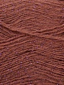 Fiber Content 70% Acrylic, 5% Lurex, 25% Angora, Rose Brown, Pink, Brand Ice Yarns, Yarn Thickness 2 Fine  Sport, Baby, fnt2-36553