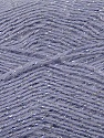 Fiber Content 70% Acrylic, 5% Lurex, 25% Angora, Silver, Lilac, Brand ICE, Yarn Thickness 2 Fine  Sport, Baby, fnt2-36561