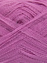 Please note that thickness of the yarn may vary with color. Contenido de fibra 100% Poliamida, Lilac, Brand ICE, fnt2-36866