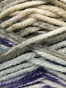 Fiber Content 100% Acrylic, White, Purple, Mint Green, Light Grey, Brand Ice Yarns, Yarn Thickness 6 SuperBulky  Bulky, Roving, fnt2-36967