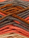 Fiber Content 100% Acrylic, Yellow, Salmon, Brand Ice Yarns, Grey, Yarn Thickness 6 SuperBulky  Bulky, Roving, fnt2-36973