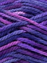 Fiber Content 100% Acrylic, Purple Shades, Brand ICE, Yarn Thickness 6 SuperBulky  Bulky, Roving, fnt2-36976