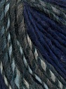 Fiber Content 50% Acrylic, 30% Wool, 20% Alpaca, Brand ICE, Grey Shades, Dark Purple, fnt2-37489