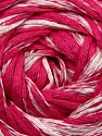 Fiber Content 64% Cotton, 26% Viscose, 10% Polyamide, White, Pink, Brand ICE, fnt2-37611