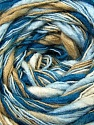 Fiber Content 100% Acrylic, White, Brand ICE, Camel, Blue Shades, fnt2-37912