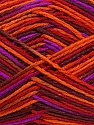 Fiber Content 100% Acrylic, Purple, Orange, Brand ICE, Burgundy, Brown, Yarn Thickness 2 Fine  Sport, Baby, fnt2-37985