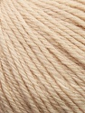 Fiber Content 100% Wool, Brand Ice Yarns, Beige, Yarn Thickness 4 Medium  Worsted, Afghan, Aran, fnt2-37997