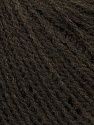Fiber Content 50% Acrylic, 25% Alpaca, 25% Merino Wool, Brand Ice Yarns, Dark Brown, Yarn Thickness 2 Fine  Sport, Baby, fnt2-38100