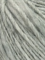 Fiber Content 35% Acrylic, 30% Wool, 20% Alpaca Superfine, 15% Viscose, Light Grey, Brand ICE, fnt2-38967