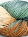 In this yarn a 100% Cotton lase yarn is used. Dyeing process is totally hand made with natural plants and NO chemicals were used. For this reason, please be advised that some white parts may remain. Fiber Content 100% Cotton, White, Brand ICE, Grey Shades, Brown, fnt2-39229