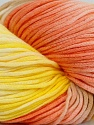 In this yarn a 100% Cotton lase yarn is used. Dyeing process is totally hand made with natural plants and NO chemicals were used. For this reason, please be advised that some white parts may remain. Fiber Content 100% Cotton, Yellow, White, Salmon, Brand ICE, Camel, fnt2-39236