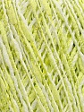 Fiber Content 60% Cotton, 25% Acrylic, 15% Polyamide, White, Brand Ice Yarns, Green, Yarn Thickness 2 Fine  Sport, Baby, fnt2-39241
