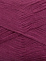 Very thin yarn. It is spinned as two threads. So you will knit as two threads. Yardage information is for only one strand. Fiber Content 100% Acrylic, Orchid, Brand ICE, fnt2-39404