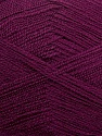 Very thin yarn. It is spinned as two threads. So you will knit as two threads. Yardage information is for only one strand. Fiber Content 100% Acrylic, Purple, Brand ICE, fnt2-39405