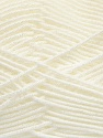 Fiber Content 100% Acrylic, White, Brand Ice Yarns, Yarn Thickness 3 Light  DK, Light, Worsted, fnt2-39409
