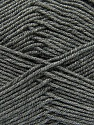 Fiber Content 100% Acrylic, Brand Ice Yarns, Grey, Yarn Thickness 3 Light  DK, Light, Worsted, fnt2-39415