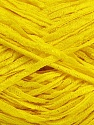 Fiber Content 50% Viscose, 50% Acrylic, Yellow, Brand Ice Yarns, Yarn Thickness 3 Light  DK, Light, Worsted, fnt2-39566
