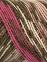 Fiber Content 50% Wool, 50% Acrylic, Pink, Brand ICE, Camel, Brown, fnt2-39913
